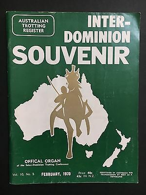 Inter-Dominion Trotting Souvenir February 1970