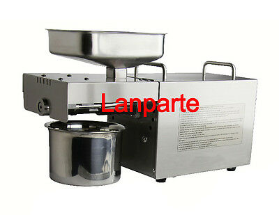 Automatic Small Oil Press Machine Household Seed Olive Oil Cold Hot Press 110V
