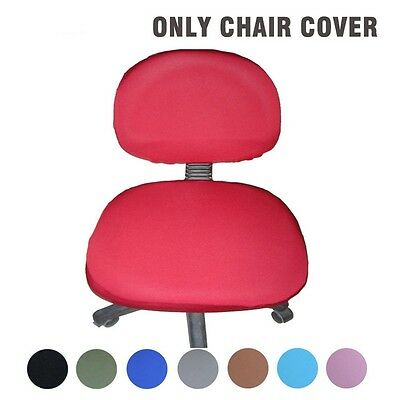 Modern Spandex Office Computer Chair Cover Polyester Elastic Fabric Removable