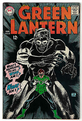 DC Comics GREEN LANTERN Issue 58 What's Happening To Me? Who Am I? FN