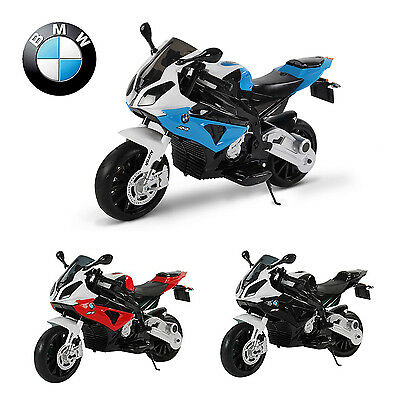 moto lectrique pour enfant bmw s1000 rr 12v2 moteurs. Black Bedroom Furniture Sets. Home Design Ideas