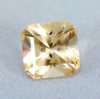CERTIFIED 6.01 Cts Untreated Brazil Morganite Octagon Fancy !!