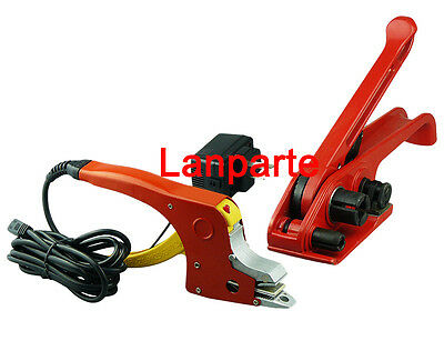 Manual Electric Hot_melting Strapping Tool + Box Strapping Tensioning Tool 220V