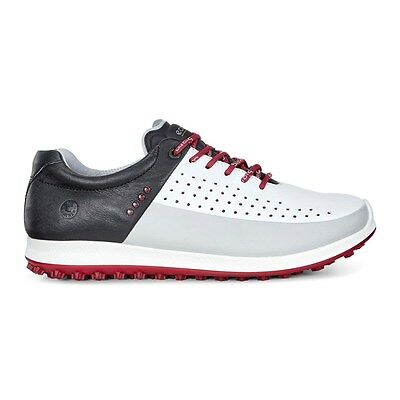 Ecco Mens Biom Hybrid 2 Golf Shoes Wh/Black Size 45 (UK 10.5)