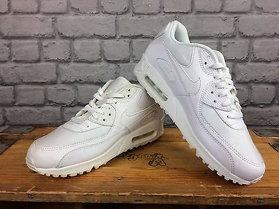 pretty nice a9b75 dc34c NIKE AIR MAX 90 Mens White Leather Crosstown Trainer Rrp £95 All Sizes