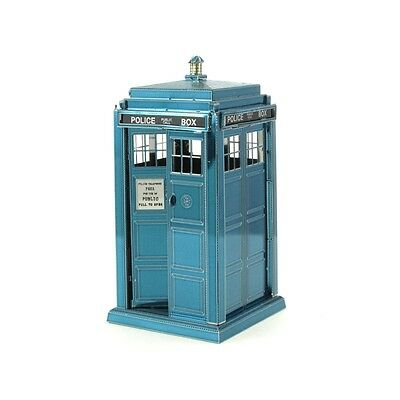 MetalEarth Doctor Who Tardis Puzzle