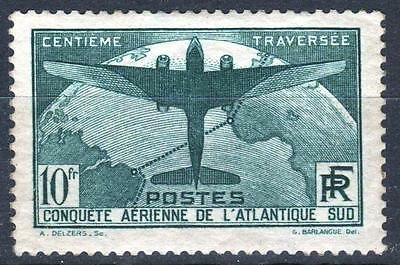 """FRANCE STAMP TIMBRE 321 """" TRAVERSEE ATLANTIQUE SUD 10F """" NEUF xx TB A VOIR P138"""