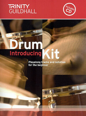 Trinity Guildhall Introducing Drum Kit Book +CD Sheet Music Learn Beginner Drums