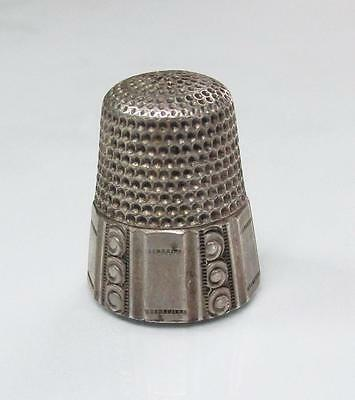 Vintage #9 Sterling Silver Thimble ~ 5.1 grams ~ 4-A8548