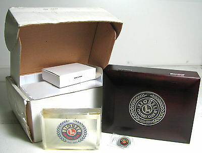 Lionel Century Club II 2001-2005 Jewellery Box, Paperweight and Pin Badge