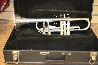 *Blessing XL-TR Silver/Nickel Trumpet w/ 2 7c Mouthpieces & Case Free Shipping