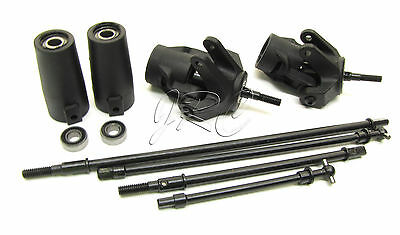 Axial SMT10 Grave Digger AXLES & KNUCKLES driveshafts Dogbone wraith AX90055