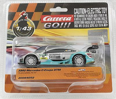 Carrera Go 64052 Amg Mercedes C-Coupe Dtm, #12 New 1/43 Slot Car