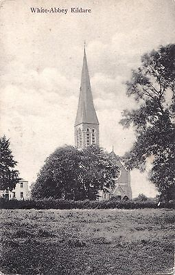 irish postcard ireland kildare the white abbey