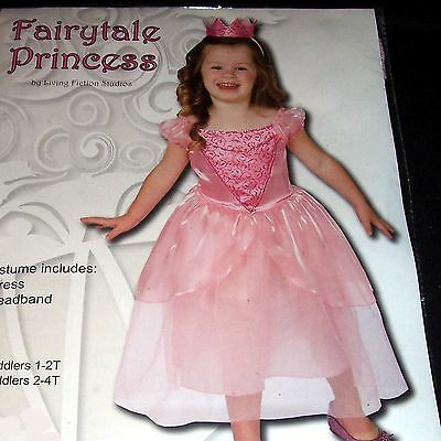 Fairytale Princess - Girl Toddler Costume - 2-4T - Pink