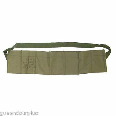 10 COUNT USGI  5.56 223 7 Pocket Bandolier Unissued NEW Bandoleer .223/556