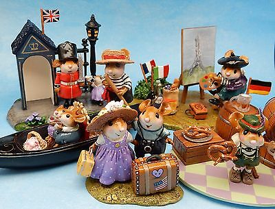 A WEE EUROPEAN HONEYMOON by Wee Forest Folk, Mouse Expo 2016 Event Set