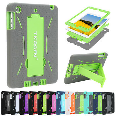 Kids Shock Proof Protective Case Heavy Duty Silicone Tablet Cover for Apple iPad