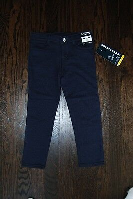 Girls French Toast school uniform adjustable waist jeans pants all sizes NWT