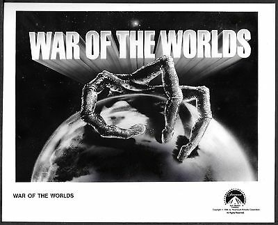☆ War of the Worlds ORIGINAL 1988 Paramount TV Series Promo Photo Sci-Fi