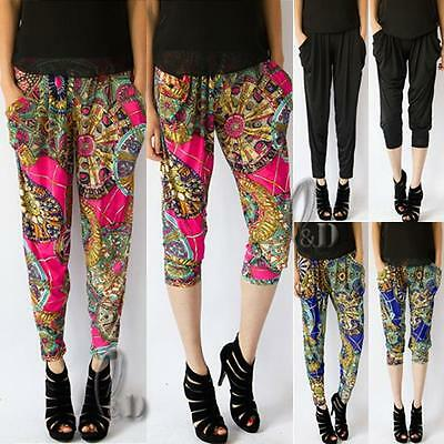 WHOLESALE BULK LOT OF 10 MIXED STYLE Baggy Yoga Beach  2 in 1 Pants Shorts P134