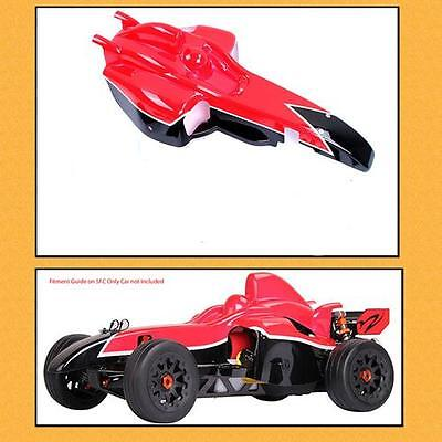 Clearance F1 style Body Poly Carbonate Body 1/5 RC