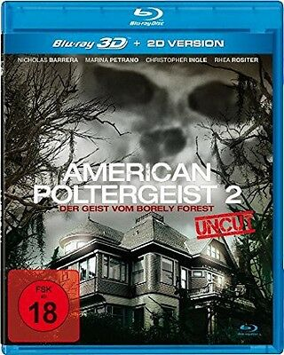 *** [FSK18]  American Poltergeist 2 (3 Real 3D Blu-ray) NEU+OVP