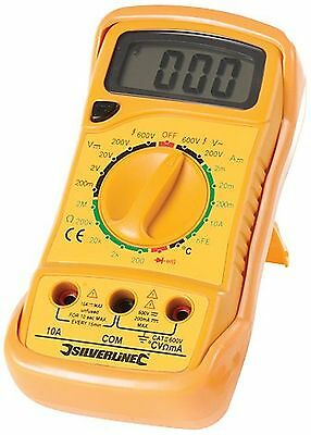 Silverline 513121 Expert Digital Multimeter AC and DC