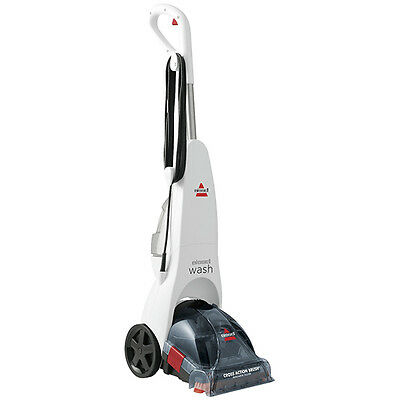 Bissell 54K2B Wash 300W Upright Carpet Cleaner Red & White 1.9L Tank 6m Cord