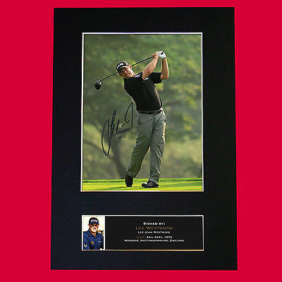 LEE WESTWOOD Autograph Mounted Signed Photo RE-PRINT Print A4 457