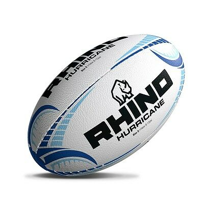 Rhino Rugby 'Hurricane' Hand Stiched Match & Top Quality Training Rugby Ball