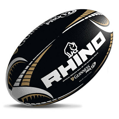 Guinness Pro12 Black Supporters Rugby Ball 5