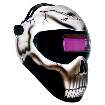 Save Phace Extreme Face Protector Auto-Darkening Welding Helmet - D.o.a.