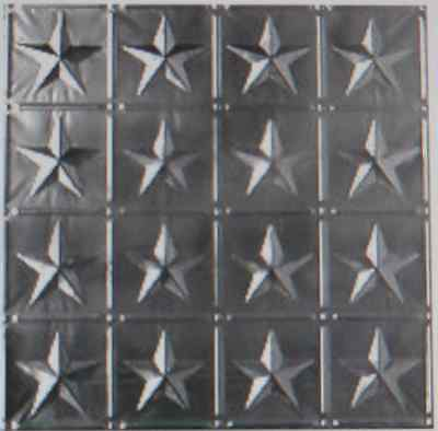 (10)  2' x 2' Tin Plated Steel Sheets. For backsplash or Ceilings Texas Star WoW