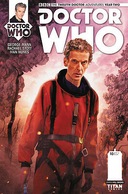 DOCTOR WHO 12TH YEAR TWO #10 COVER B (Titan 2016 1st Print) COMIC