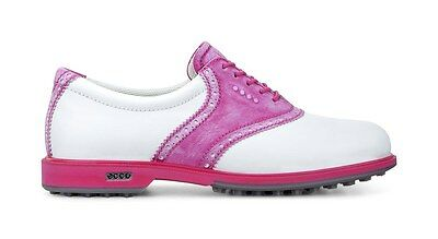 Ecco Womens Classic Hybrid Golf Shoes White Candy Size 40 (UK 6.5-7)