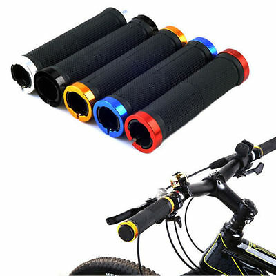 1 Pair Cycling Lock-on Handle Grips For Bicycle Road Bike Handlebar 8o