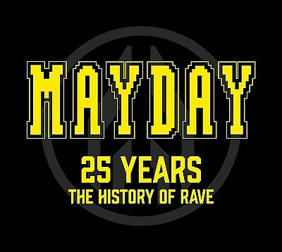 Mayday-25 Years-The History Of Rave  3 Cd Neu
