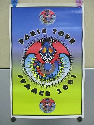 "Lot Of 2 WIDESPREAD PANIC 11""x17"" Posters Concert Tour"