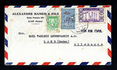 13480-SYRIA-AIRMAIL COVER ALEP to LAHR (germany) 1958.SYRIE.Aerien