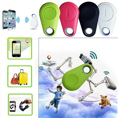 Voice Recording Alarm GPS Bluetooth Smart Keychain Anti-LossLocator Tag Green
