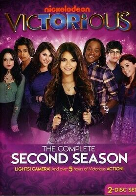 Victorious: The Complete Second Season [2 Discs] (2012, REGION 1 DVD New)