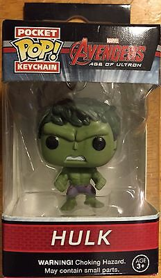 Pocket POP Keychain Marvel Avengers Incredible Hulk Mini Vinyl Figure Funko NEW