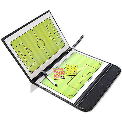 Magnetic Football Soccer Coaching Dry Erase Clipboard Tactical Board with Marker