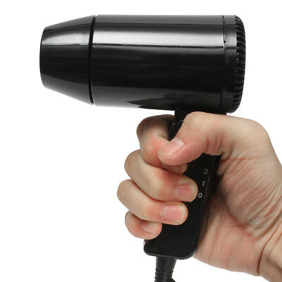 New Foldable DC 12V 216W Car Hair Blow Dryer Heat Blower Hot Wind For Travel