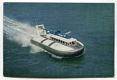 Seaspeed Hovercraft SRN 6 - Cowes & Southampton service - modern-size postcard