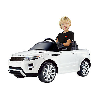 Licensed Land Rover Kids Electric Ride On Toy Car 6V Remote Control Lights MP3