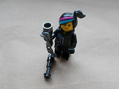 New The Lego Movie Wyldstyle Minifigure Tlm027 With Hood Folded Down Weapon 3 50 Picclick Uk
