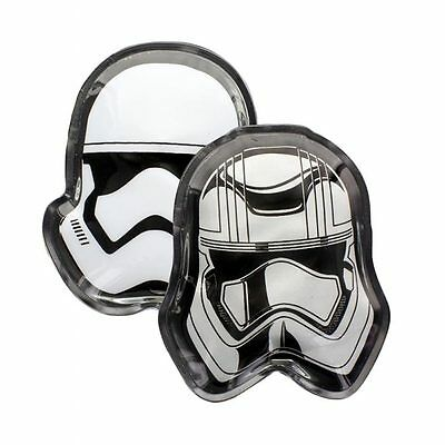 Official Star Wars Episode 7 Stormtrooper an Captain Phasma Hand Warmers - Boxed