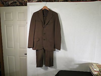 Vintage Allen Mfg.Co Denver Colorado Men's Western Suit Rockabilly 40 in chest